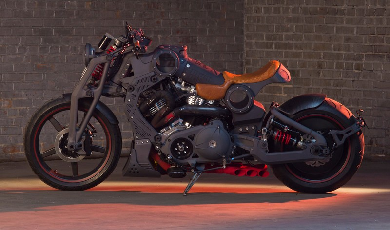 FA-13 Combat Bomber, the most powerful Confederate Motorcycle, unveiled at the Pebble Beach Quail Event