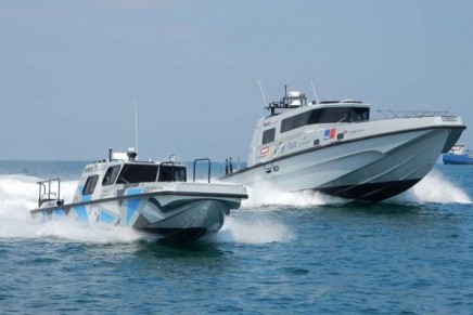Montecarlo – Venice with FB 60'. A new record in powerboating