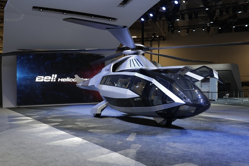 FCX-001 at Heli-Expo