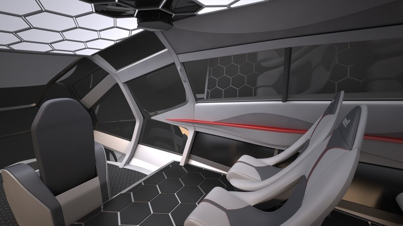FCX-001 by Bell Helicopter _Interior_2_Red