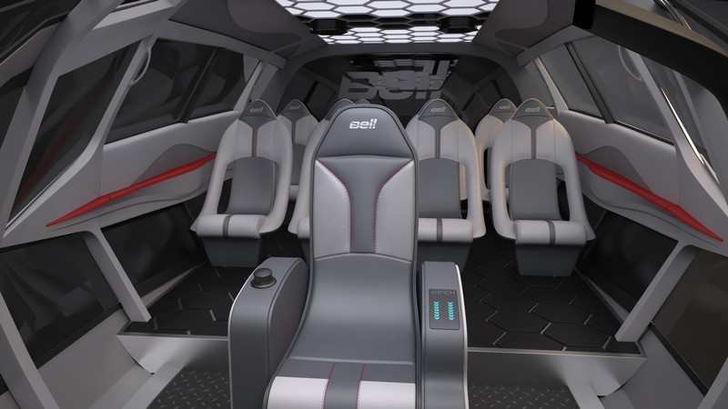 FCX-001 by Bell Helicopter - interior