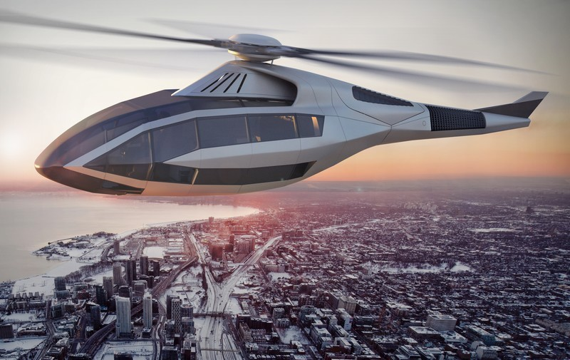 FCX-001 by Bell Helicopter renderings - over Toronto