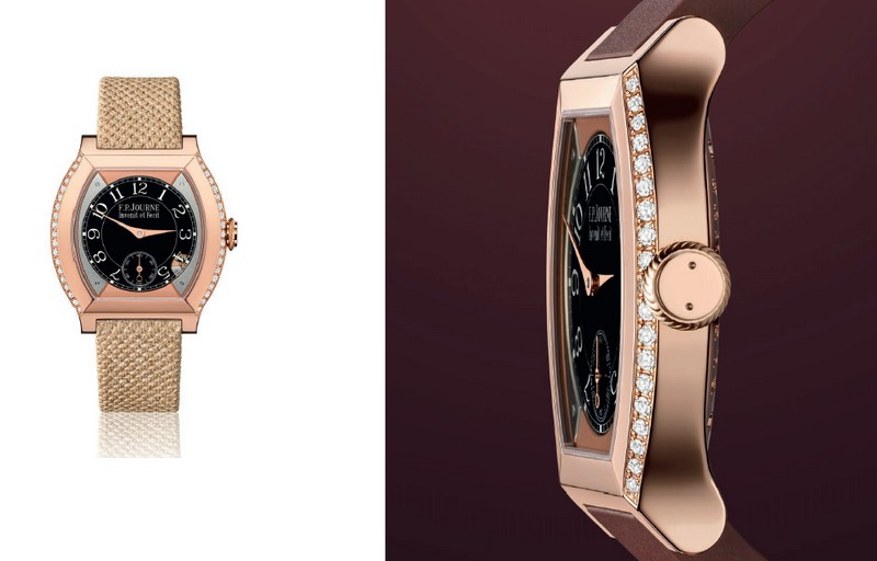 FP Journe Elegante watches - SIHH 2018 - gold and diamonds