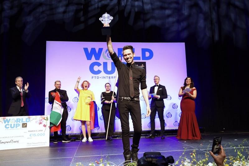 FTD Interflora World Cup Champion Bart Hassam from Australia - 2019 winner