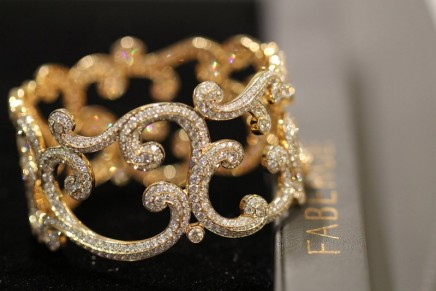 Statement jewelry pieces: 2017 Fabergé Rococo Collection