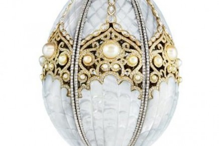 Faberge Pearl Egg – Faberge's first Imperial egg in 99 years