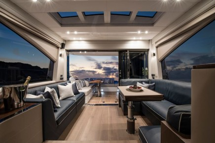 Fairline's hardtop Squadron 65 delivers elegance and performance in equal measures