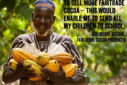 Global Fairtrade sales reach £4.4bn following 15% growth during 2013