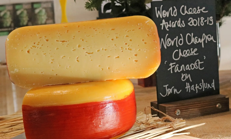 Fanaost from Norway crowned World Champion Cheese 2018 in Bergen