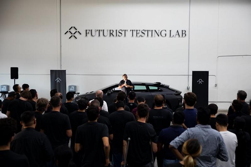 Faraday Future - Futurist Tasting Lab 2019