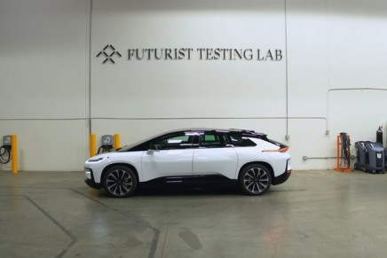 Futurist Testing Lab unveiled by Faraday Future