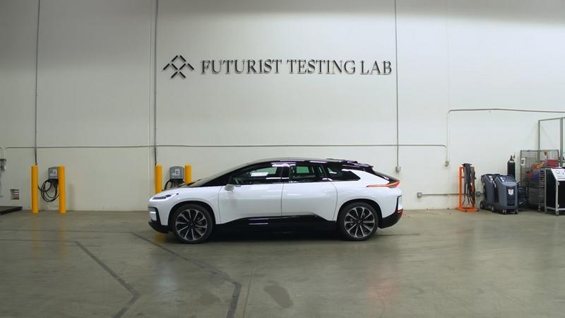 Faraday Future - Futurist Testing Lab 2019