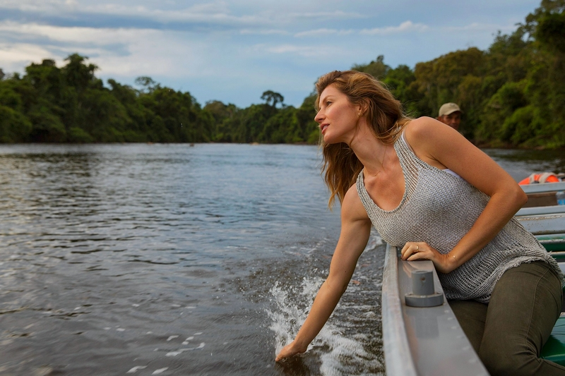 Fashion Model Gisele Bündchen in Nat Geo's Years of Living Dangerously - Fashin Activism