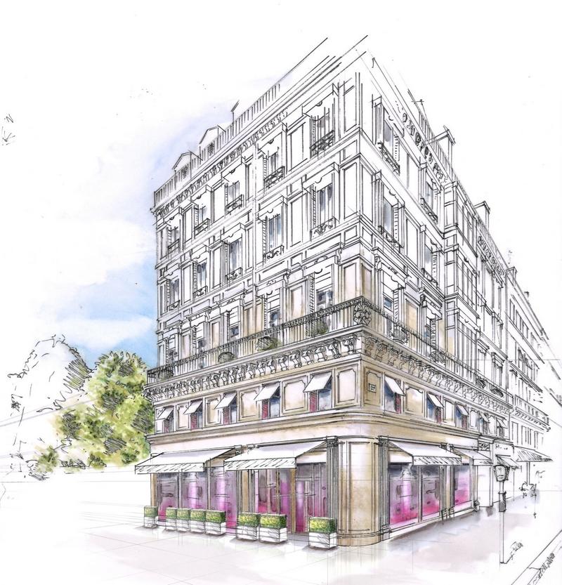Fauchon Hotel - sketch