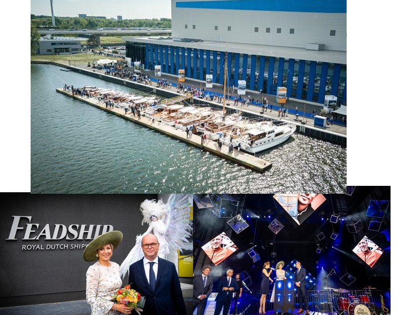 Feadship Launch 2019 May -A look at the most eco-friendly superyacht yard in the world-