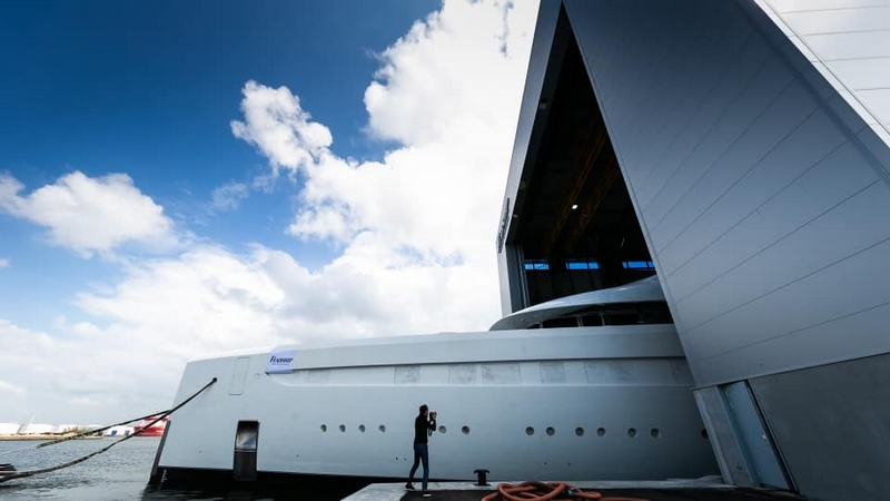 Feadship Yacht Launch 2019 May