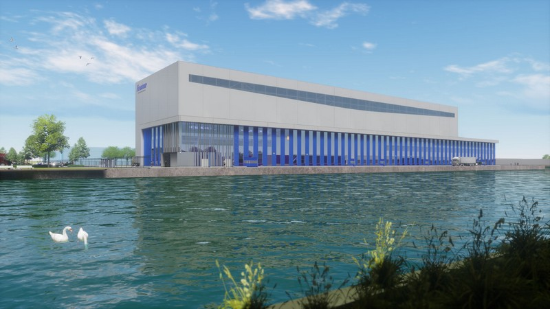 Feadship is building its fourth shipyard for new superyachts of up to 160 metres