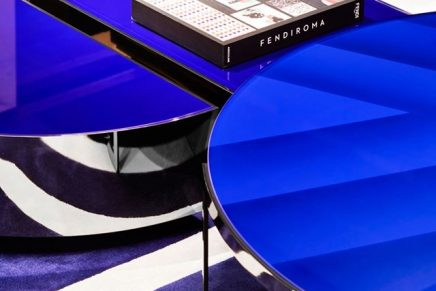 Nature meets fashion: The new Fendi Casa tables are ready to steal the show