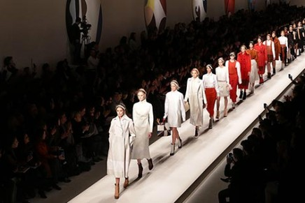Milan fashion week sees brands offer a more restrained glamour