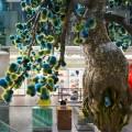 Fendi Ginza Tokyo 2015 - the botanical artwork inside the playful Fendi Ginza pop-up store by the flower artist Makoto Azuma.