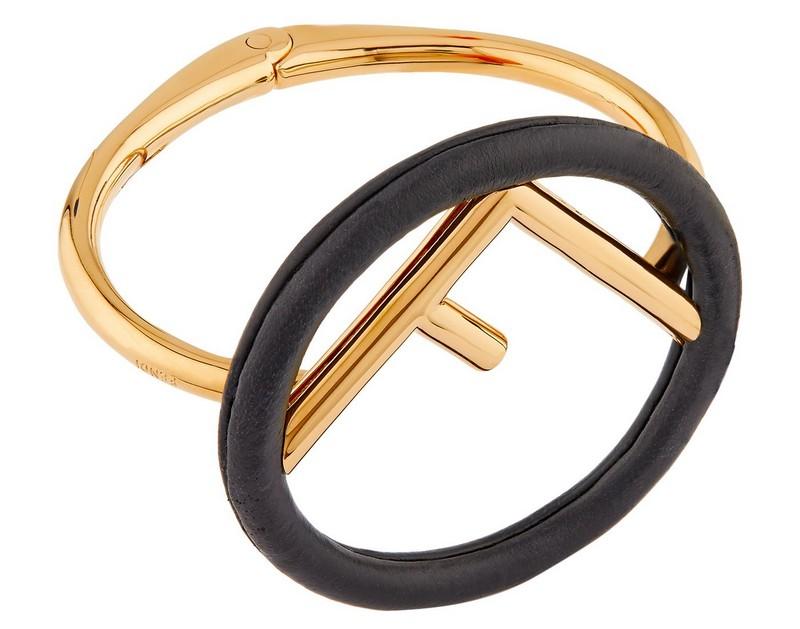 Fendi Leather Bracelet