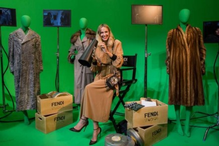 First look at Fendi Studios: Fendi's headquarters transformed into movie sets