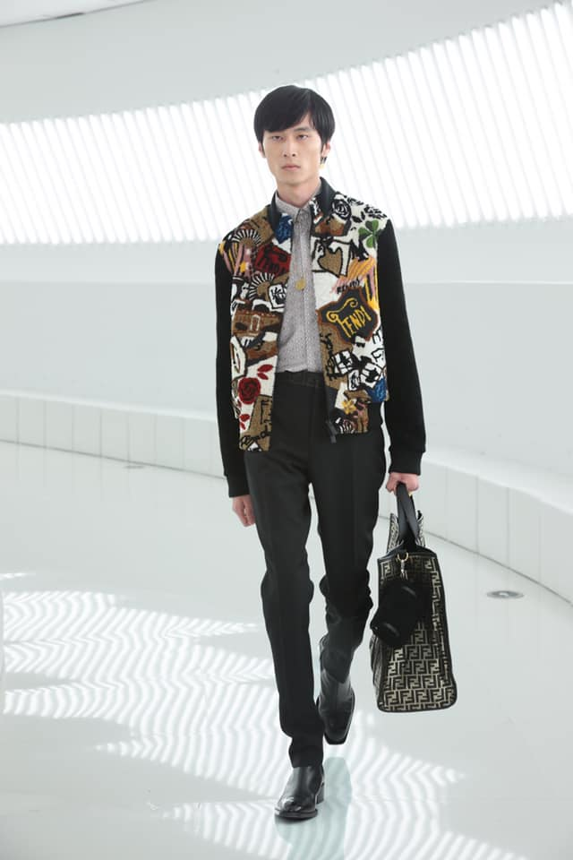Fendi brought the city of Rome to Shanghai for the first joint runway show in the history of the Maison-004