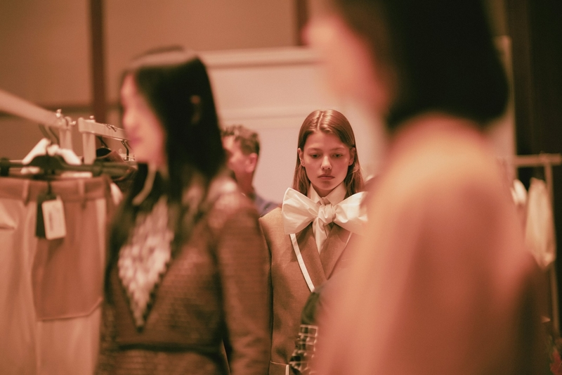 Fendi in Shanghai for the first joint runway show in the history of the Maison-09