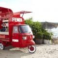Fendi's Ape Piaggio transformed into a pop-up store - 2016