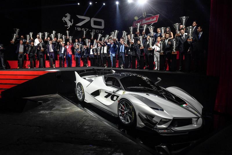 Ferarri Finali Mondiali 2017 - Ferarri FXX-K EVO launch