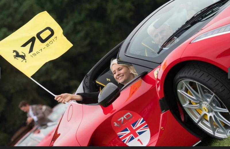 Ferrari 70th Anniversary in UK - 2017-