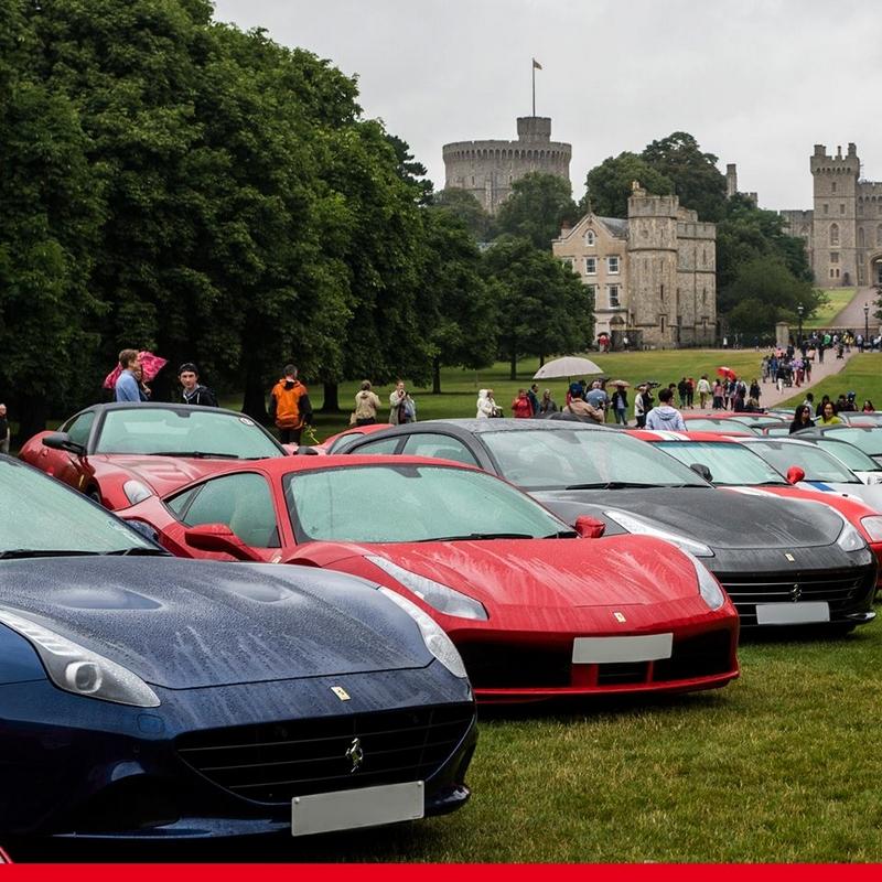 Ferrari 70th Anniversary in UK - 2017-windsor-