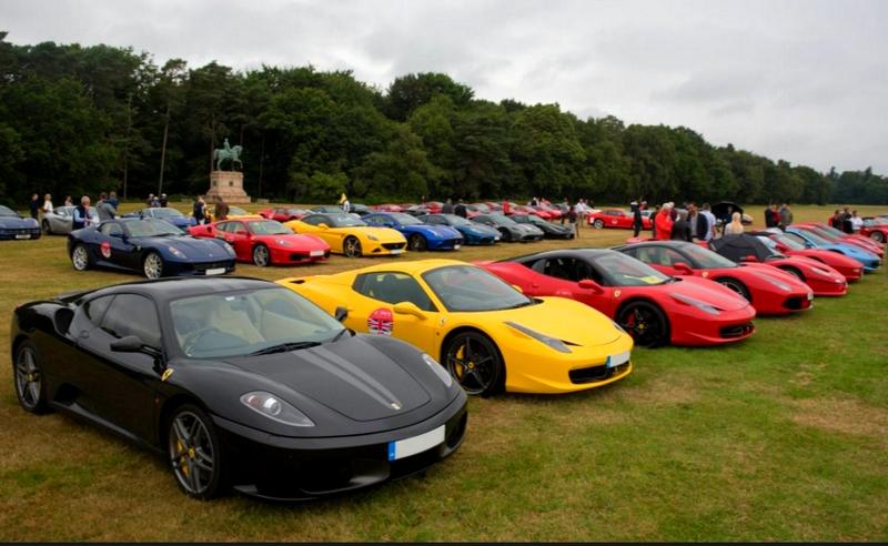 Ferrari 70th Anniversary in UK - 2017-windsor castle estate meeting