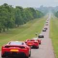 Ferrari 70th Anniversary in UK - 2017-windsor castle estate parade