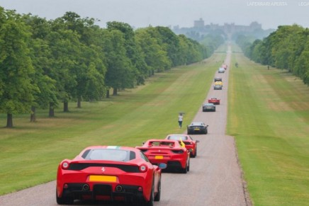 Take a seat and enjoy your life: Ferrari 70th Anniversary at the Windsor Castle Estate