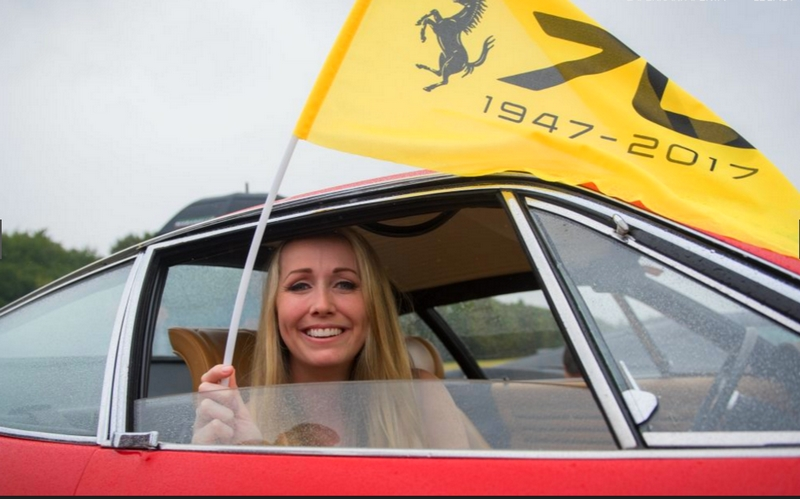 Ferrari 70th Anniversary in UK - 2017-windsor castle estate parade guests