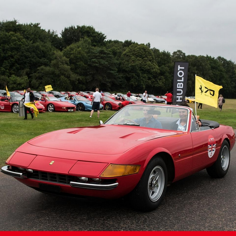 Ferrari 70th Anniversary in UK - 2017-windsor