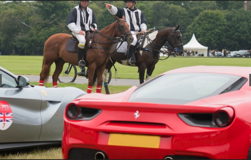 Ferrari 70th Anniversary in UK - 2017