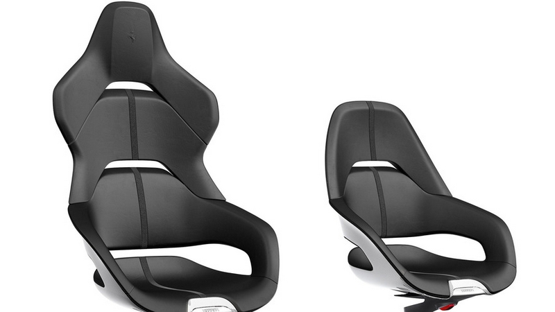 Ferrari Cockpit office chair - the first office chair ever design by Ferrari Design Centre-2017-