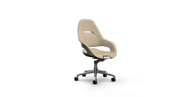 Ferrari Cockpit office chair - the first office chair ever design by Ferrari Design Centre-2017-beige