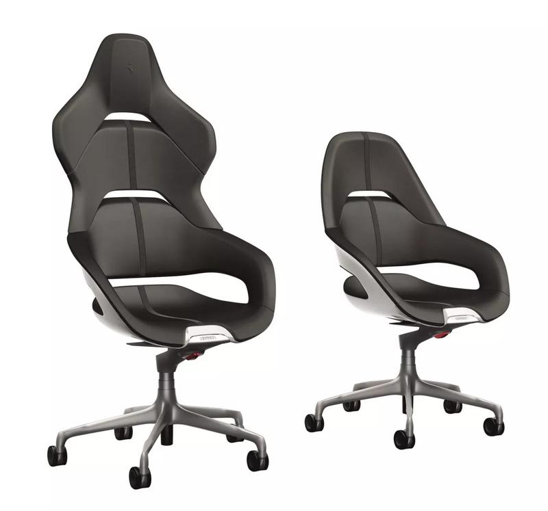 Ferrari Cockpit office chair - the first office chair ever design by Ferrari Design Centre-2017