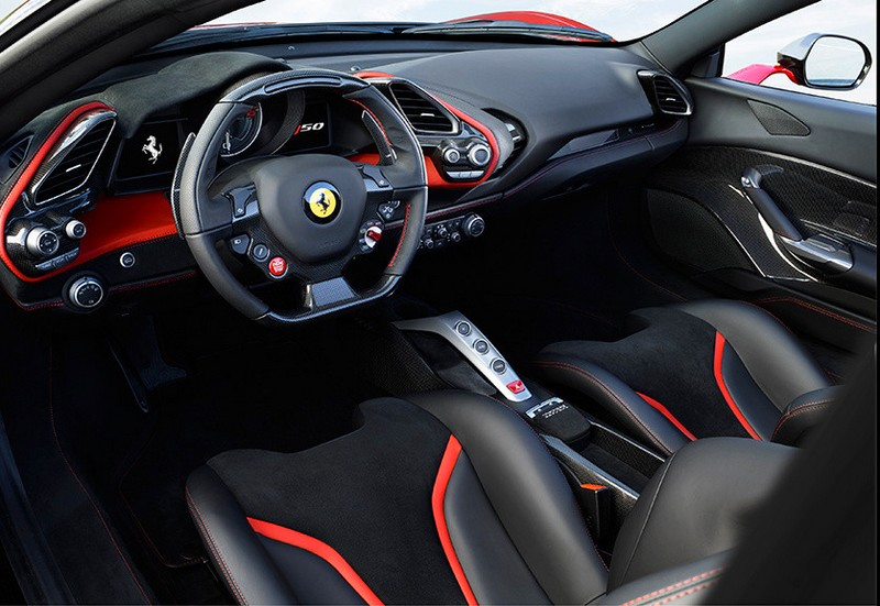 Ferrari J50 supercar photos-