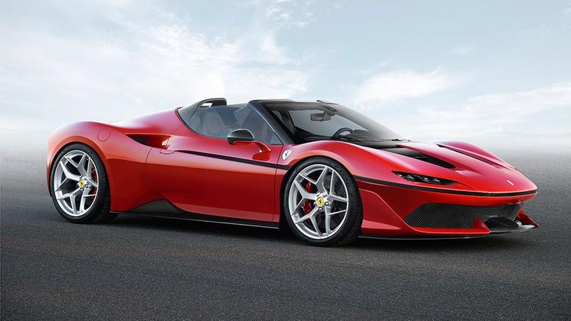 Ferrari J50 supercar photos