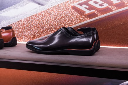 Designed specifically for gentlemen drivers: Berluti's driving shoes