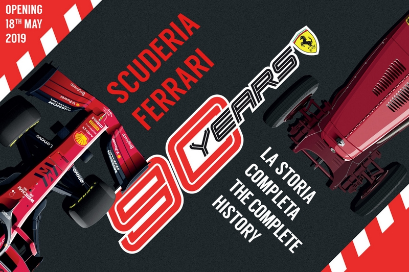 Ferrari Museum celebrates Scuderia Ferrari's landmark anniversary with the 90 Years Exhibition