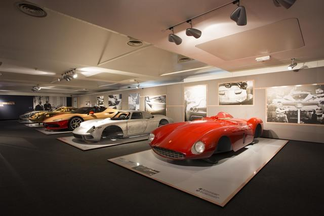 Ferrari Museum of Maranello opens two exhibitions May 2017