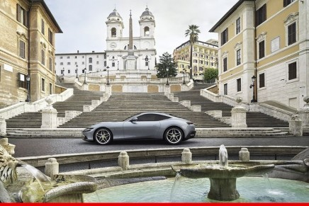 Ferrari Roma, the new Prancing Horse V8 2+ coupé unveiled in Italy's capital