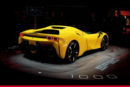 SF90 Stradale: Ferrari has pulled the wraps off its first ever Plug-in Hybrid car in the marque's history