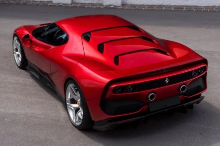 Ferrari SP38 – a model that can be driven both on road and on track