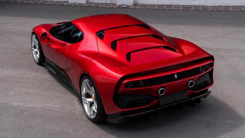 Ferrari SP38 red